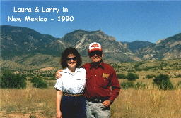 Laura & Larry in New Mexico - 1990